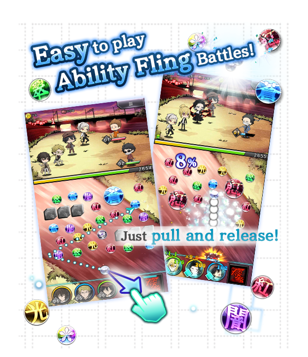 Easy to play Ability Fling Battles!
